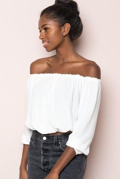free people off the shoulder summer top