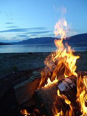 Camp fires & Fire pits. With good friends or just a good glass of wine.