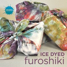 Learn how to make your own Japanese cloth wraps!