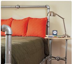 Pipe bed frame!