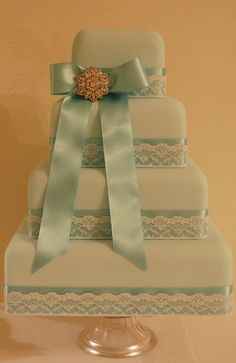 Cake for BRIDES photoshoot. by Sweet Tiers Cakes (Hester), via Flickr