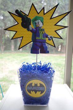 thanks for coming lego Batman Lego Batman Birthday, Fourth Birthday, Superhero Birthday Party, 6th Birthday Parties, Birthday Ideas, Happy Birthday, Lego Batman Party, Lego Batman Movie, Batman Party Decorations