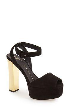 GIUSEPPE ZANOTTI 'Lavinia' Platform Sandal (Women). #giuseppezanotti #shoes #sandals