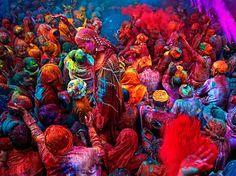 #Festival del #color #HoliFest #India