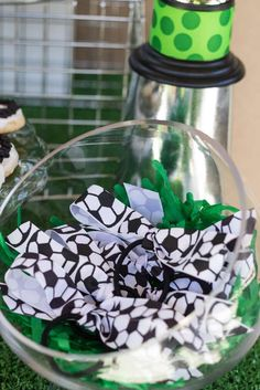 soccer party Birthday Party Ideas | Photo 9 of 11 | Catch My Party