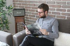 Marshall Acton Speaker Bluetooth  Curato nei minimi particolari Marshall Acton è un vero e proprio oggetto esclusivo di  design , elegante stile vintage (fedele replica dei sistemi da palco degli anni '60.) si adatta a qualsiasi tipo di arredo. ***** photo: lebarboteur.com