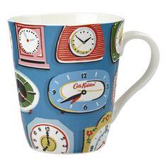 Cath Kidston Clocks Cobalt Mug