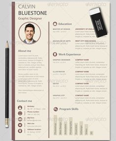 Free Creative Resume Templates For Photoshop And Illustrator