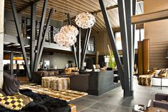 ski lodge interiors - Google Search