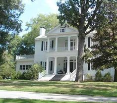 Juxa Plantation Union, S. Old Southern Homes, Southern Plantation Homes, Southern Mansions, Southern Plantations, Southern Charm, Southern Style, Charleston Plantations, Plantation Houses, Greek Revival Architecture