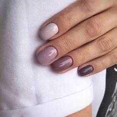 nails french tip coffin ~ nails french tip . nails french tip with design . nails french tip color . nails french tip glitter . nails french tip ombre . nails french tip acrylic . nails french tip short . nails french tip coffin Simple Nail Art Designs, Easy Nail Art, Short Nail Designs, Ten Nails, Nagel Blog, Purple Nails, Purple Ombre, Gradient Nails, Nagel Gel