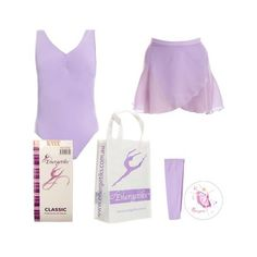Energetiks Ballet Pack 1 (Tactel PACK1 ($47) ❤ liked on Polyvore featuring intimates
