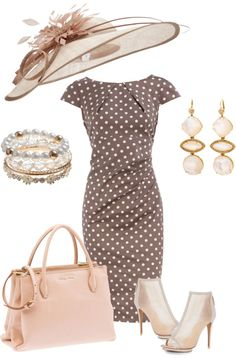 This would be my Kentucky Derby outfit only in Coral- OK ladies put your best durby outfit on for my b-day lol!