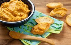 Winter Squash Crostini // Here's a great vegan side dish for your holiday entertaining.