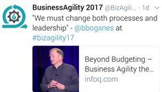 En #Agile no solo deben cambiar los procesos, debe cambiar el estilo de liderzgo.  #AgileCoach
