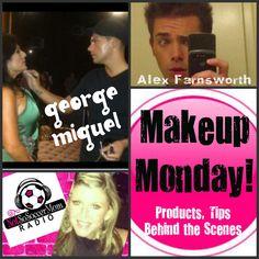 MONDAY  3/26/12    Celeb makeup artist to #RHONJ Melissa Gorga  GEORGE MIGUEL & Regional Makeup Artist ALEX FARNSWORTH are my guests    http://www.notsosoccermomradio.com  1pmEST