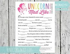 Image result for unicorn party games