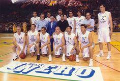 Equipo de leyendas del baloncesto del Real Madrid