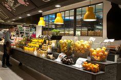 ICA Liljeholmen – Juice & Smoothie Bar by IDEI Concepts AB, Stockholm – Sweden » Retail Design Blog