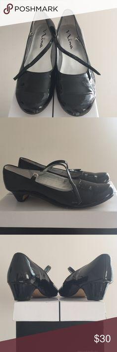 Nina Seeley Mary Jane Black Patent Leather Mary Jane (Original 📦 Not Included) Nina Shoes Dress Shoes
