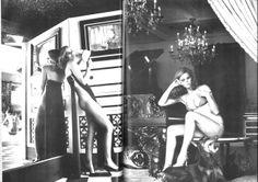 beverly johnson and lisa taylor by helmut newton Helmut Newton, Lisa Taylor, Beverly Johnson, Anjelica Huston, Guy Bourdin, Hollywood, Cover Model, Vogue Paris, Looks Great