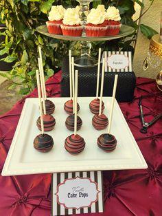 Moulin Rouge Party | La Dolce Idea Weddings & Soirees | San Diego Cake Pop Shop