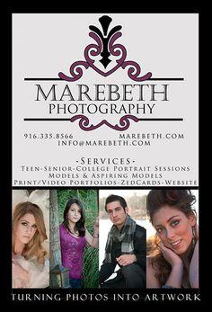 My Postcard - Front www.Marebeth.com