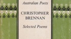"""Words to """"Because She Asked Me Why I Love Her"""" by Christopher Brennan"""