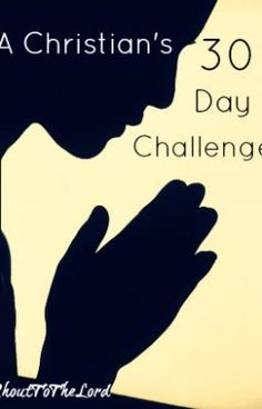 A Christian's 30 Day Challenge To Deeper Living:Day 1: You Can Do This! - This is your challenge: grow spiritually, do...