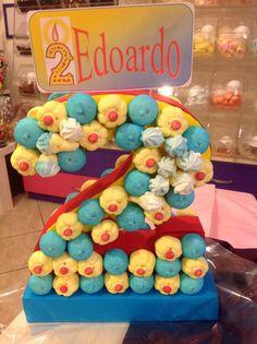Tarta de chuches - Candy cake - Gâteau de bonbons - Snoeptaart - #Marshmallow - #Golosinas