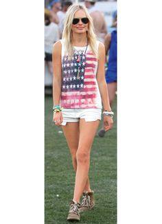 Kate Bosworth: Music Festival style