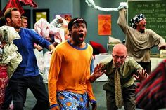 Just Can't Get Enough Community. Photo: The episode with the pillow-blanket fort fight. http://filmsveganism.blogspot.com/2012/04/just-cant-get-enough-community.html