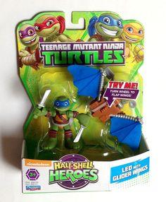 "NEW Nickelodeon Half Shell Hero 6/"" Pet to Ninja Turtle Transformer LEO Leonardo"
