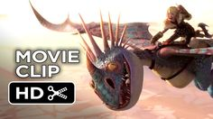 Stormfly plays fetch in the new How To Train Your Dragon 2 Clip