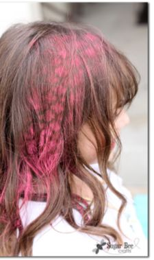 hair stenciling?!  amazing concept!