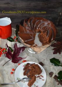 Los lunes son un poco mejores con un bundt cake. Mondays are a bit better with a chocolate bundt cake. Healthy Foods To Eat, Healthy Eating, Healthy Recipes, Homemade Desserts, Homemade Cakes, Chocolate Bundt Cake, Mondays, The Help, Pudding