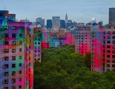 Cool Colored Buildings!!!!!!