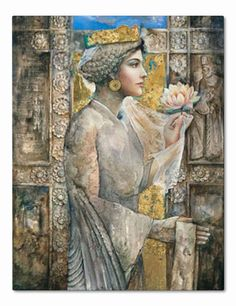 Roxanna Achaemenid Princess http://www.pinterest.com/jeanniemancini/brush-strokes/