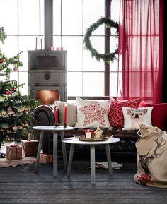 Christmas 2015   H&M Home   via helenesjul