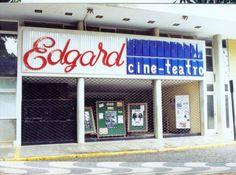 Edgard Cine Teatro, parte integrante do prédio criado pelo arquiteto Aldary Toledo, na década de 1950.