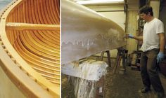 Though wood-and-canvas canoes look great and paddle even better, few people have bothered to build them since the early 20th century. Read 5 Steps - To build a wood canvas canoe. Featured in the May 2011 issue of Canoe & Kayak magazine.