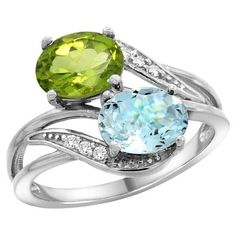 2 stone mothers ring - Google Search