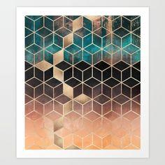 Ombre Dream Cubes - $20