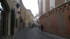 Stiklų St. in Old Town of Vilnius Jewish Ghetto, 14th Century, Lithuania, Old Town, Cemetery, Facade, Old Things, Castle, Street View