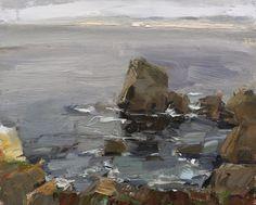 Seascape California 04 - http://rosepleinair.com/seascape-california-04/