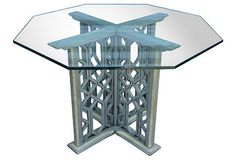 Moroccan-Inspired Octagonal Dining Table
