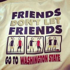 This could not be more perfect!!! Sorry Cougs, but we all need to bleed purple and gold :)