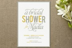 minted bridal shower invites