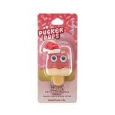 Christmas Cherry Flavoured Pucker Pops