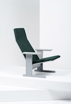 Launched at Milan design week, the latest addition to Mattiazzi's furniture collection is the Quindici lounge chair created by Ronan and Erwan Bouroullec.